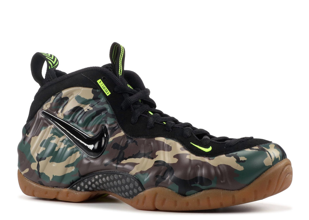 AIR FOAMPOSITE PRO 'ARMY CAMO' 中古 NO BOX