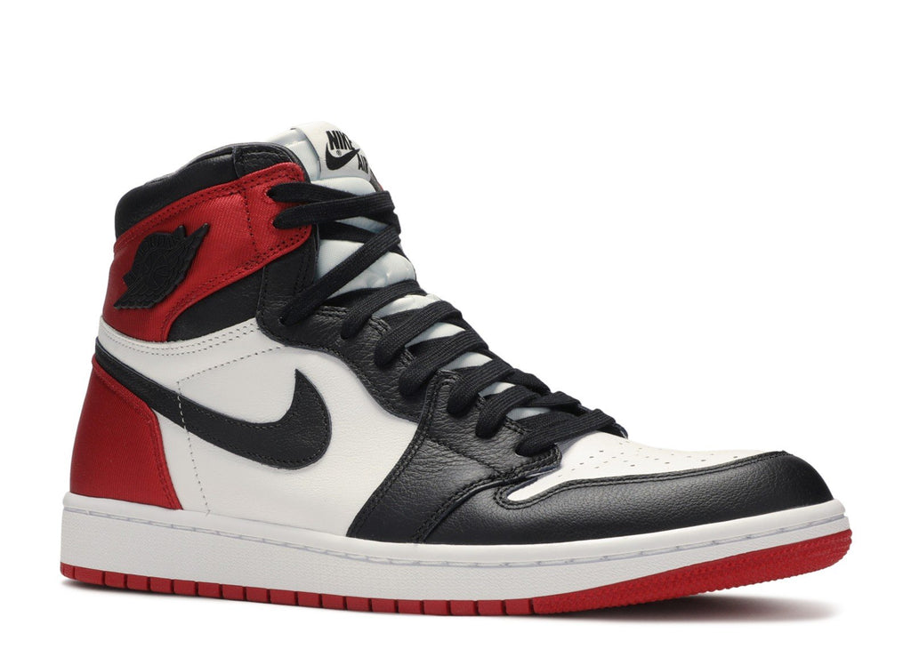 "AIR JORDAN 1 SATIN ""BLACK TOE SATIN"""