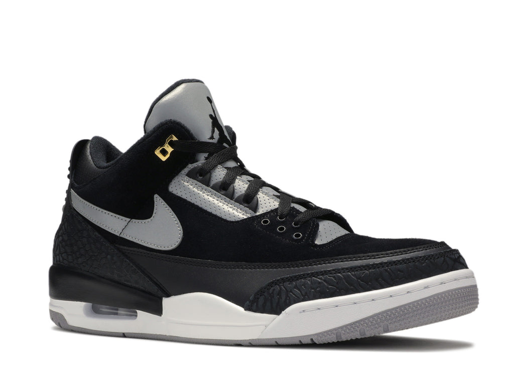 "AIR JORDAN 3 ""TINKER BLACK CEMENT GOLD"""