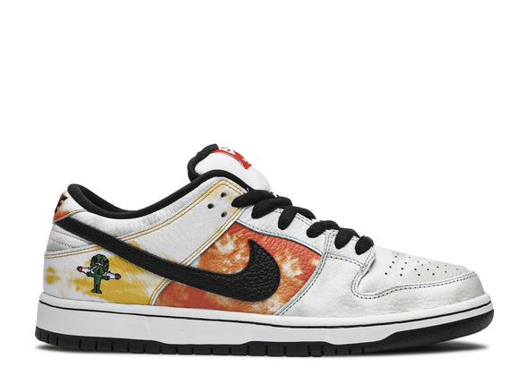 "NIKE SB DUNK LOW ""RAYGUN TIE-DYE WHITE"""