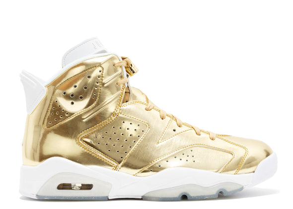 "AIR JORDAN 6 ""PINNACLE METALLIC GOLD"""