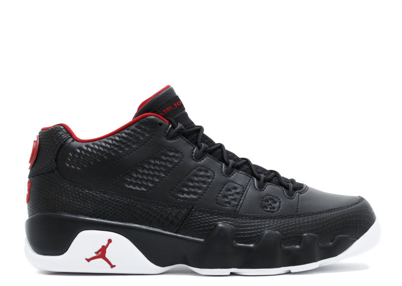 "AIR JORDAN 9 ""BRED LOWS"""