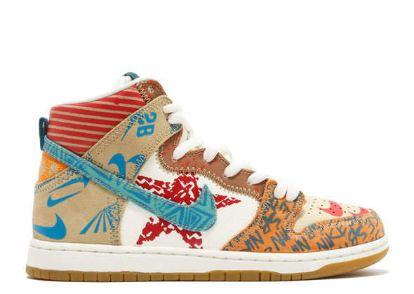 "NIKE SB DUNK HIGH THOMAS CAMPBELL ""WHAT THE DUNK"""