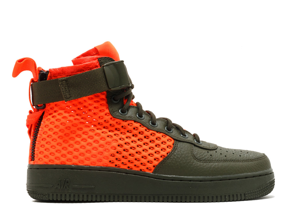 "SF AIR FORCE 1 MID QS ""OLIVE"""