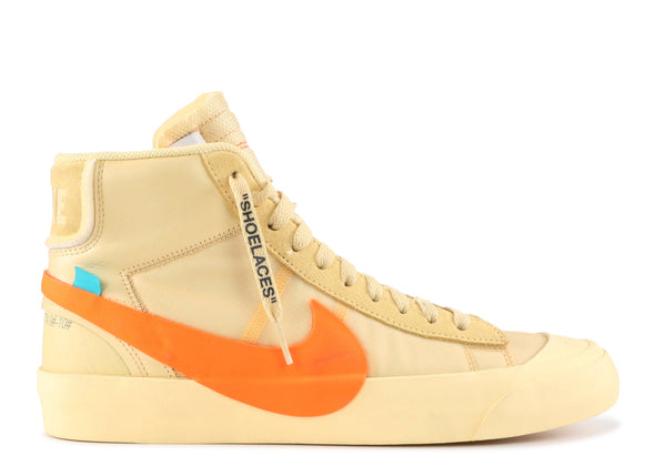 "NIKE x OFF-WHITE BLAZER THE TEN ""PUMPKIN"" ***USED/中古***"