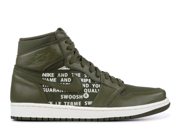 "AIR JORDAN 1 ""OLIVE CANVAS"""