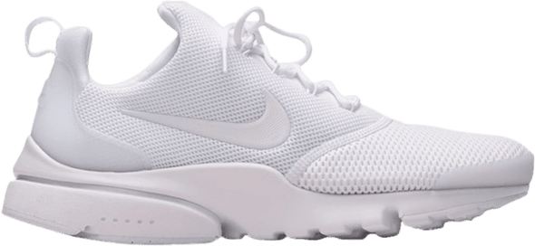 "NIKE PRESTO FLY ""TRIPLE WHITE"" ***USED/ 中古***"