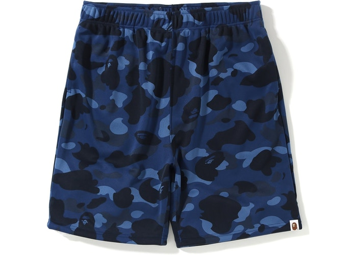 "BAPE COLOR CAMO JERSEY SHORTS ""BLUE"""