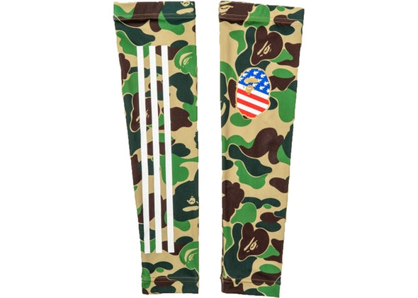 "BAPE x ADIDAS ARM SLEEVE ""GREEN CAMO"""