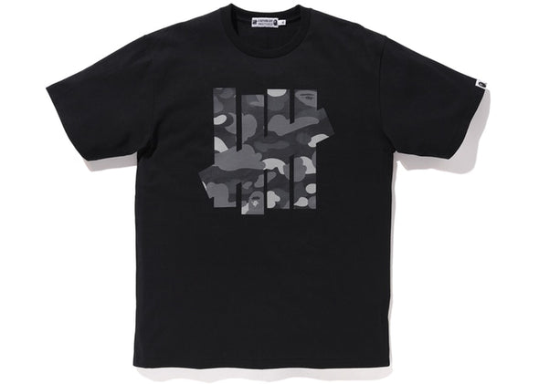 "BAPE X UNDEFEATED TEE ""BLACK"""