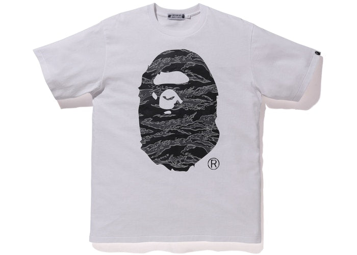 BAPE X UNDEFEATED TEE 'WHITE'