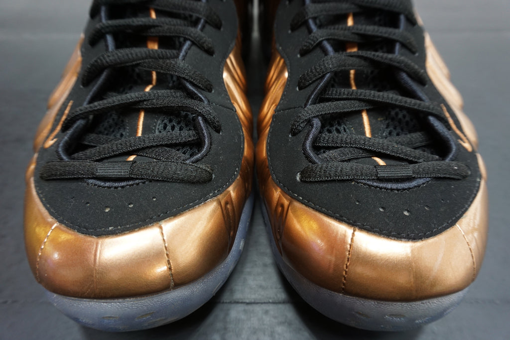 "AIR FOAMPOSITE ONE ""COPPER"" ***USED/中古***"