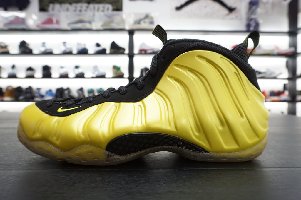 "AIR FOAMPOSITE ONE ""ELECTROLIME"" ***USED/中古***"