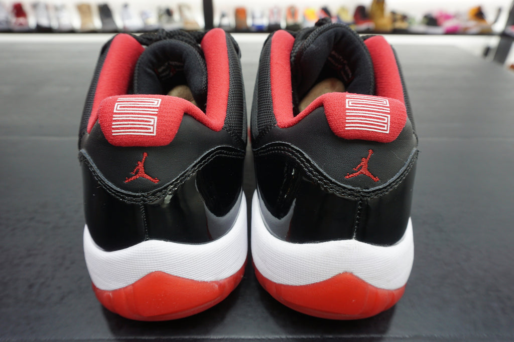 "AIR JORDAN 11 LOW ""BRED"" ***USED/中古***"