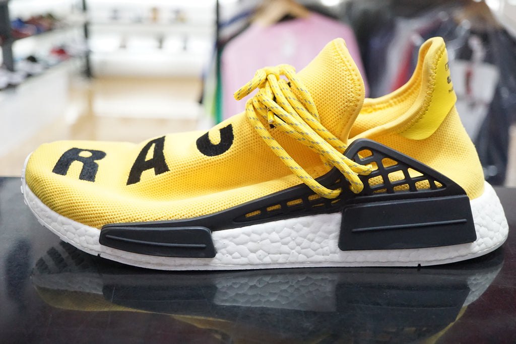 adidas nmd yellow human race