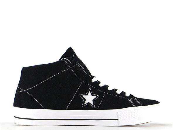 "CONVERSE ONE STAR ""BLACK SUEDE"""