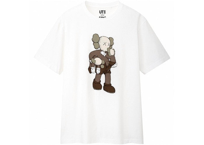 KAWS X UNIQULO CLEAN SLATE TEE 'WHITE'