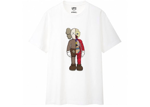 KAWS X UNIQULO FLAYED TEE 'WHITE'