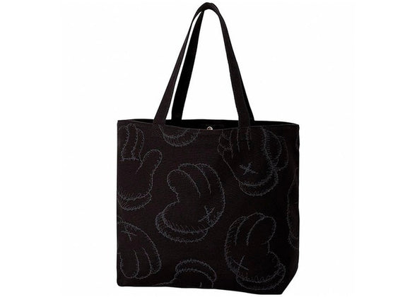 KAWS X UNIQULO HANDS TOTE 'BLACK'