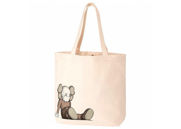KAWS X UNIQULO HOLIDAY TOTE 'NATURAL'