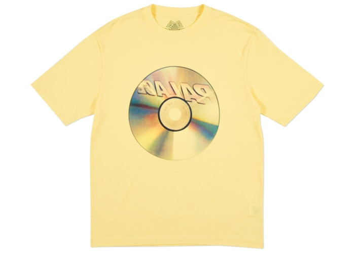 "PALACE CD TEE ""YELLOW"""