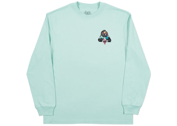 "PALACE FERG LONG SLEEVE ""EGG BLUE"""