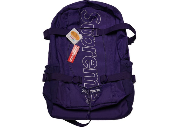 "SUPREME BACKPACK FW18 ""PURPLE"""