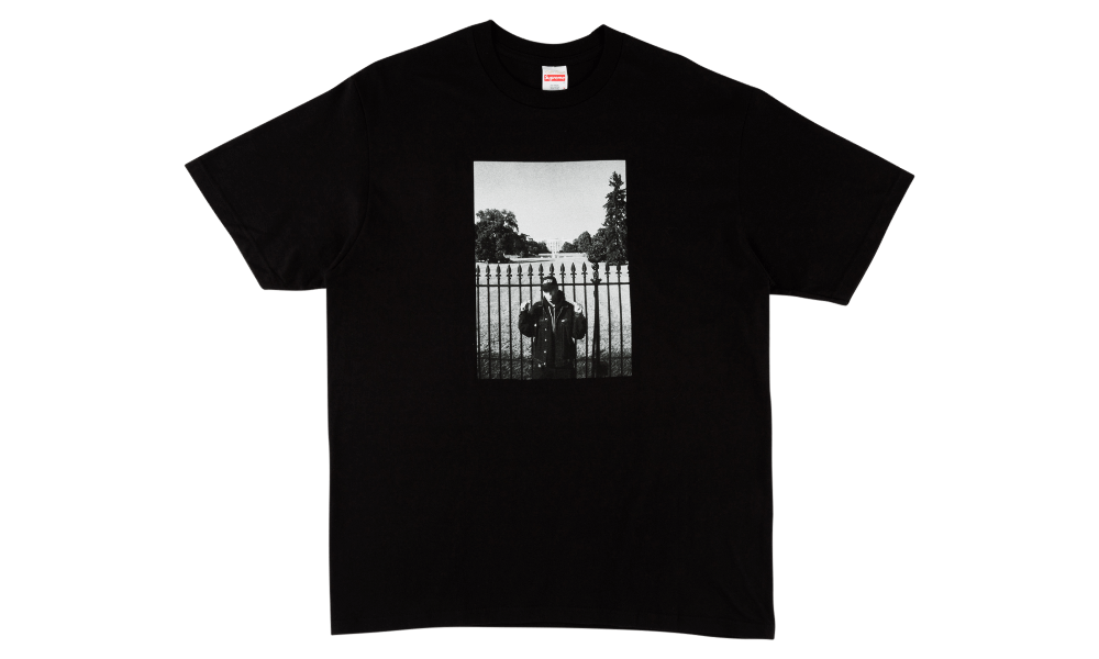 SUPREME X UNDERCOVER WHITE HOUSE TEE (BLACK)