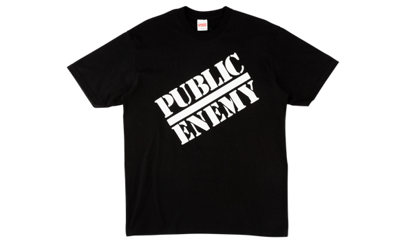 SUPREME X UNDERCOVER PUBLIC ENEMY TEE (BLACK)