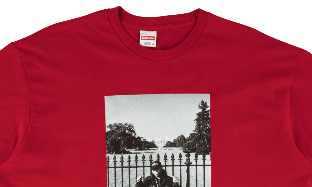 "SUPREME x UNDERCOVER WHITE HOUSE TEE ""RED"""