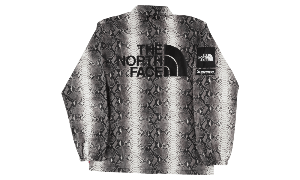 SUPREME X TNF SNAKESKIN JACKET ''BLACK''
