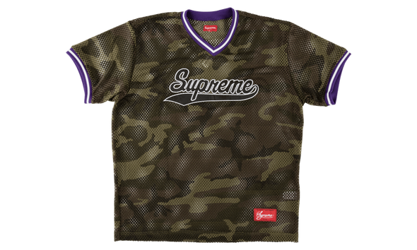 "SUPREME MESH BASEBALL TOP ""CAMO"""