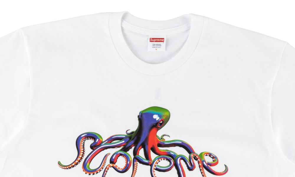 "SUPREME TENTACLES TEE ""WHITE"""
