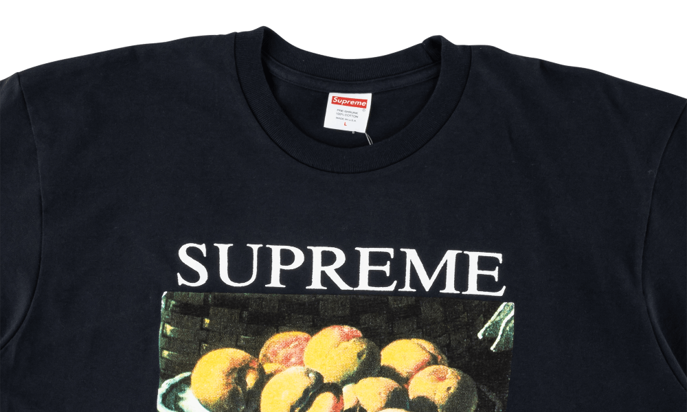 SUPREME STILL LIFE TEE ''NAVY''