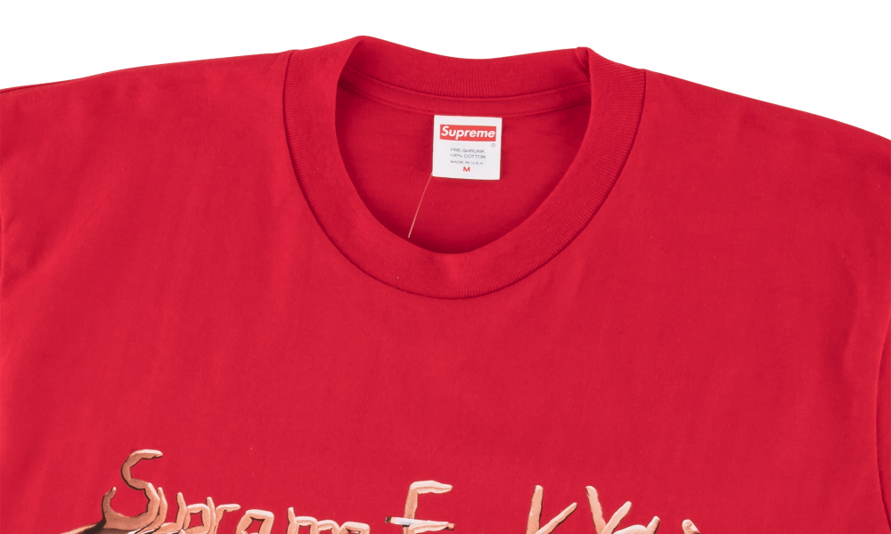 "SUPREME FUCK YOU TEE""RED"""