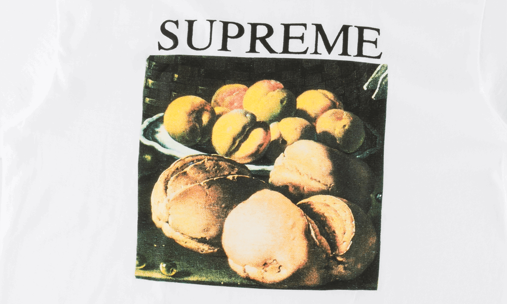 SUPREME STILL LIFE TEE ''WHITE''