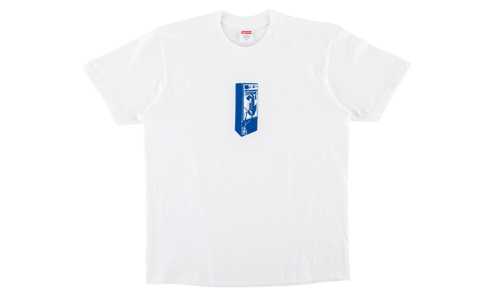 "SUPREME PAYPHONE TEE ""WHITE"""