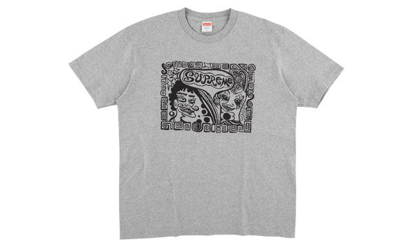 SUPREME FACES TEE ''GREY''