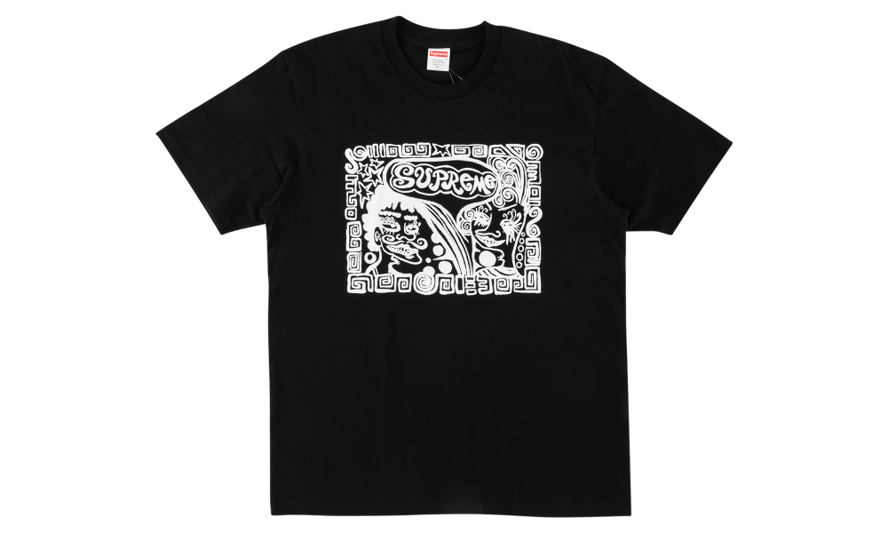 "SUPREME FACE TEE ""BLACK"""