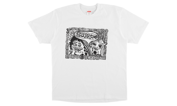 "SUPREME FACE TEE ""WHITE"""