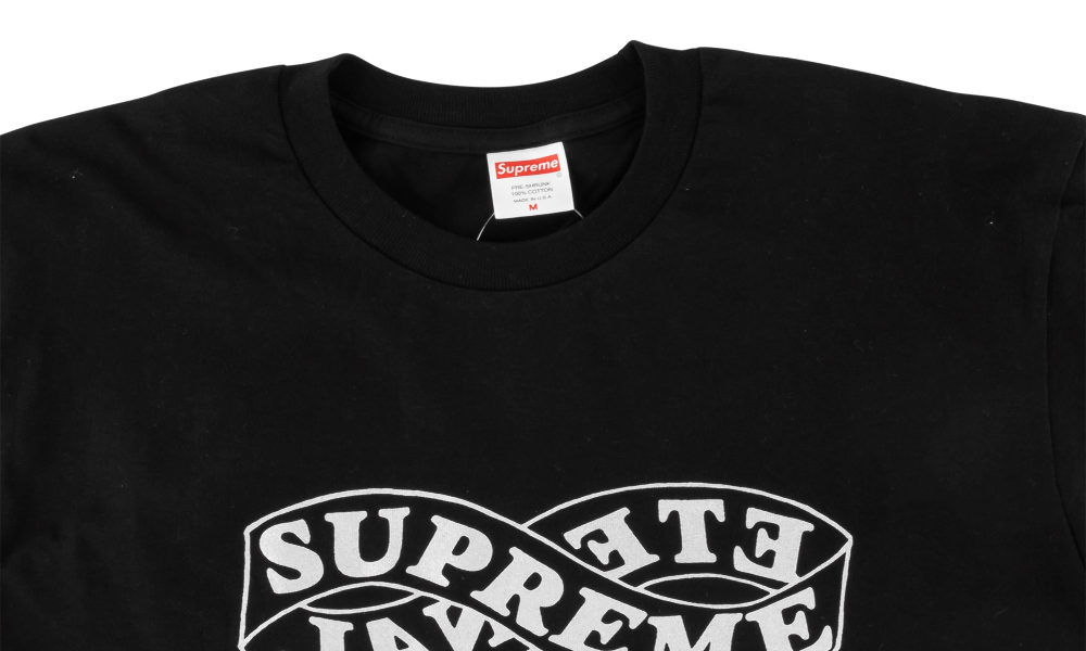 "SUPREME ETERNAL TEE ""BLACK"""
