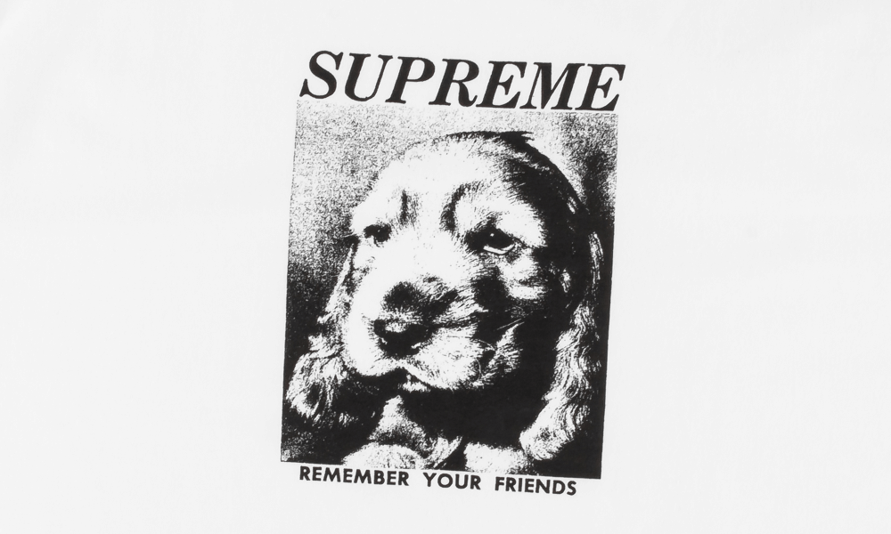 "SUPREME REMEMBER TEE ""WHITE"""
