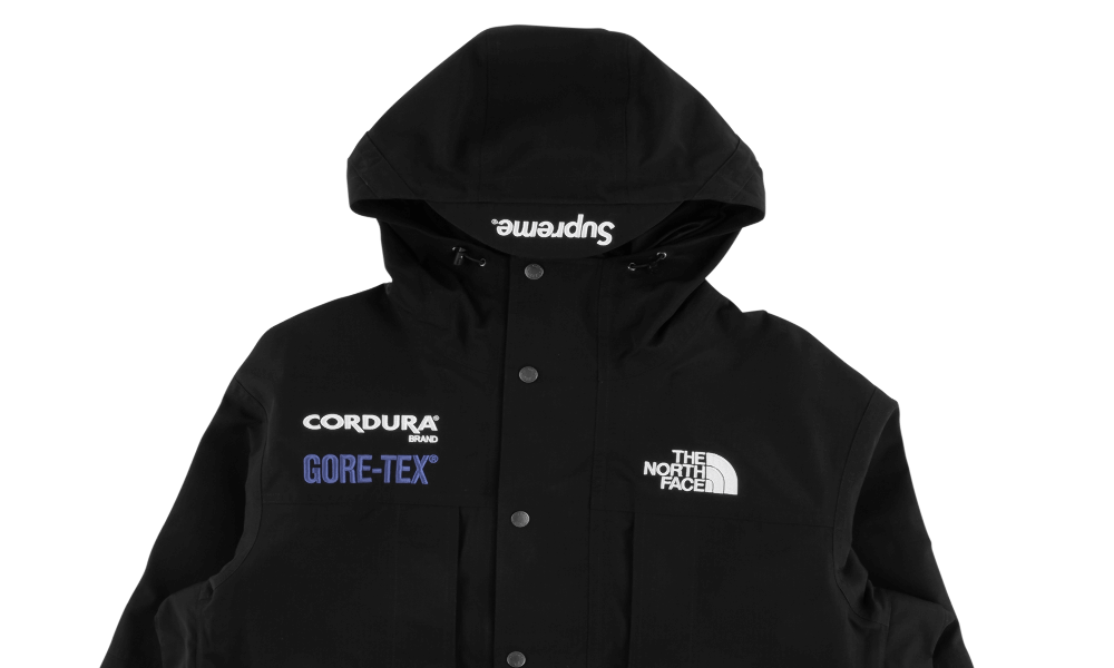 SUPREME X TNF GORE TEX MOUNTAIN JACKET 2018FW ''BLACK''