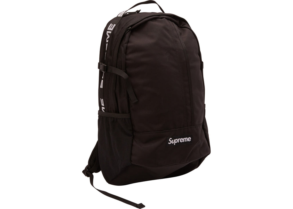 "SUPREME BACKPACK SS18 ""BLACK"""
