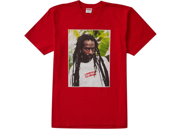 "SUPREME BUJU BANTON TEE ""RED"""