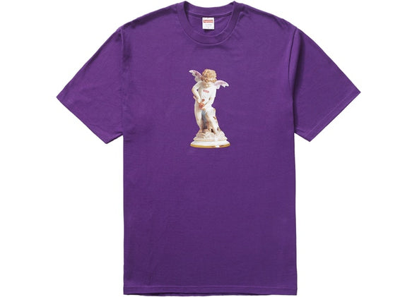 "SUPREME CUPID TEE ""PURPLE"""