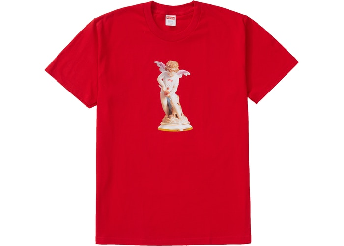 "SUPREME CUPID TEE ""RED"""