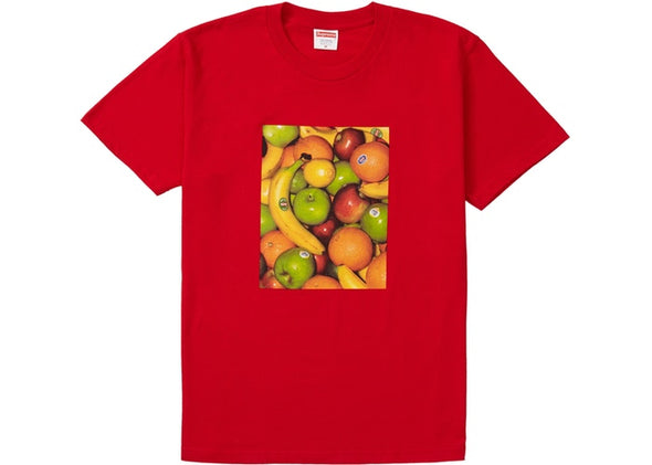 "SUPREME FRUIT TEE ""RED"""