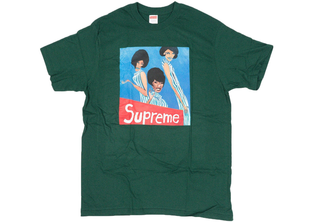 "SUPREME GROUP TEE ""DARK GREEN"""