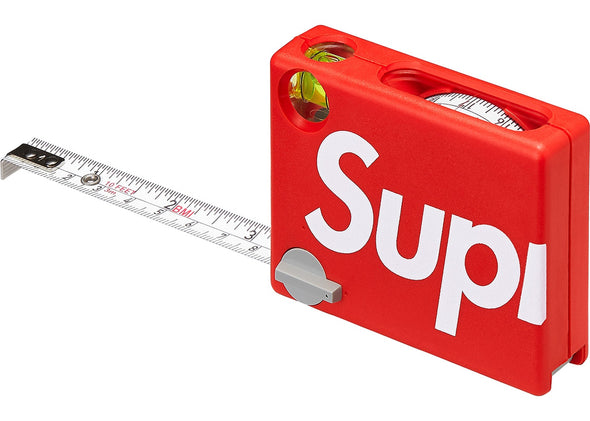 SUPREME MEASURING TAPE RED